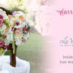 Graphic design e Floral design uniti per il tuo matrimonio!