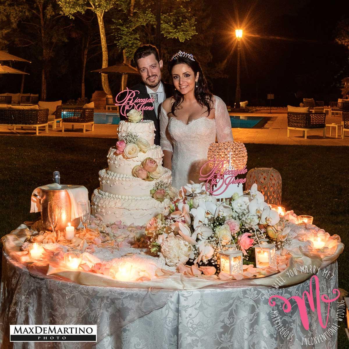 taglio torta matrimonio