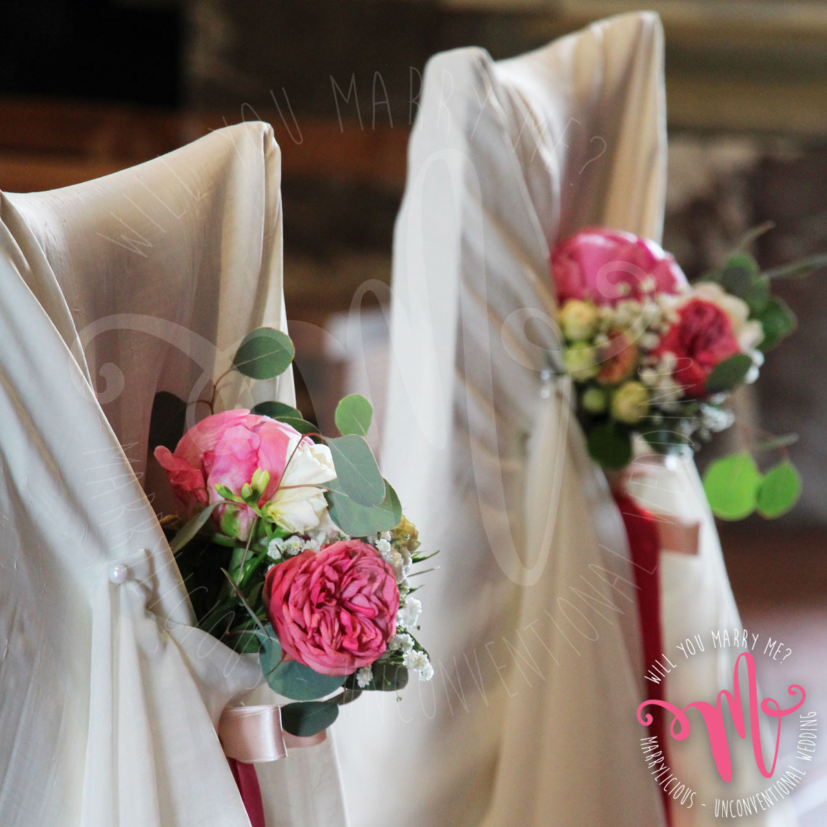 bouquet sedute sposi