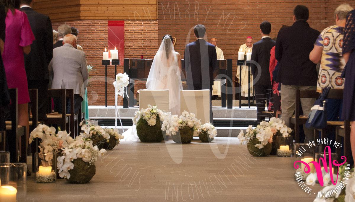 fiori chiesa sposi