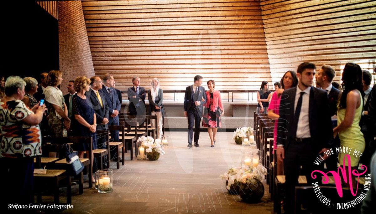 ingresso sposo cerimonia