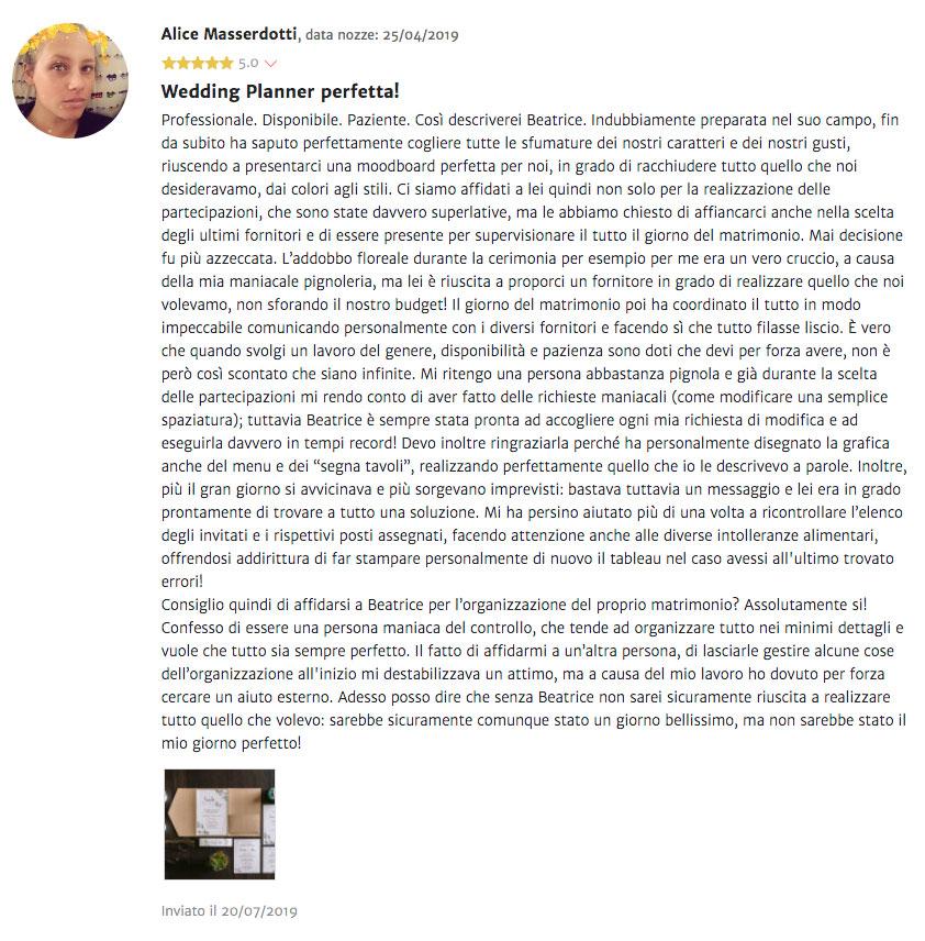 recensione alice