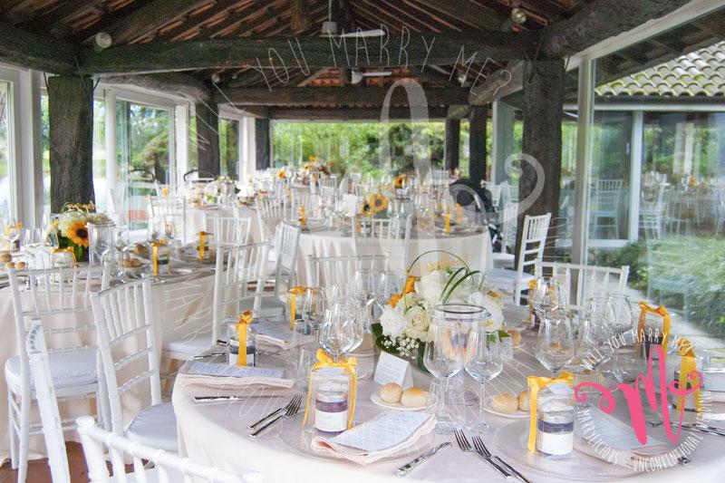 decorazioni matrimonio girasoli