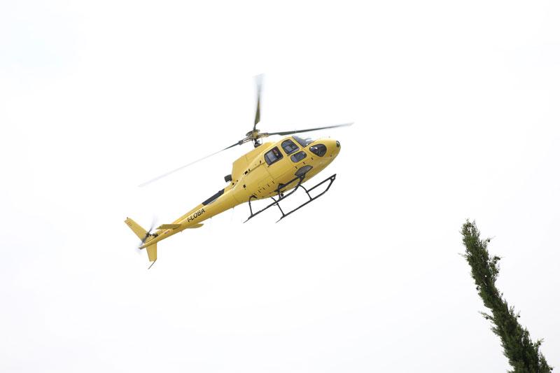 elicottero sposi
