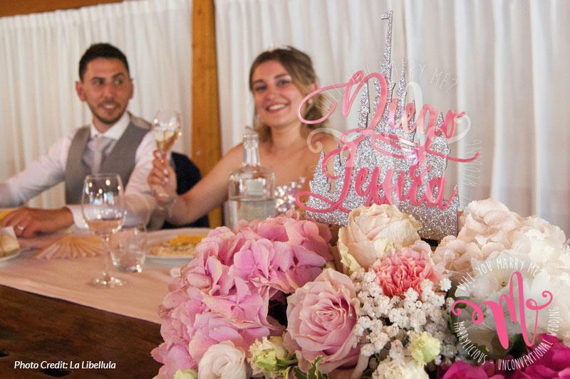 sposi tavolo
